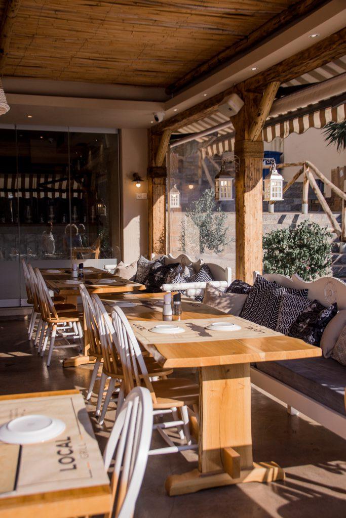 Agios Nikolaos, Taverne, essen, trinken