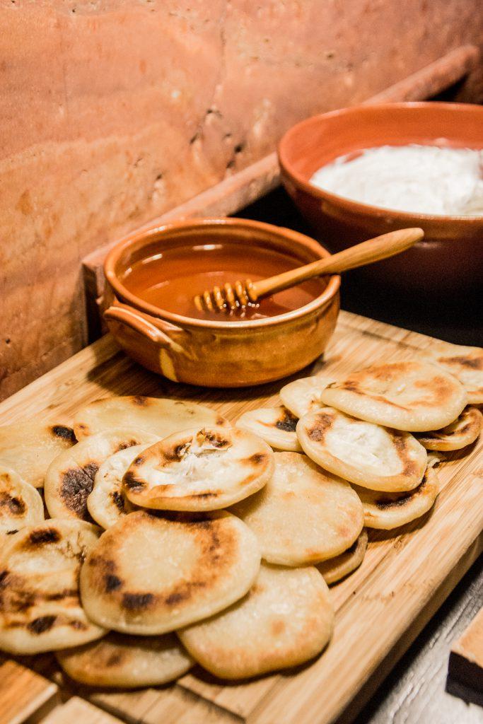 griechisch, Essen, Honig, Fladen