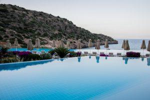 Meer, Hotel, Pool, Bucht, Griechenland