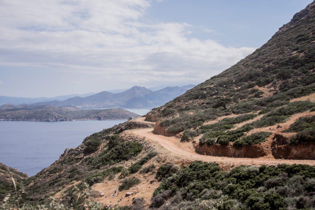 Bergstraße, Landschaft, Kreta, Offroad