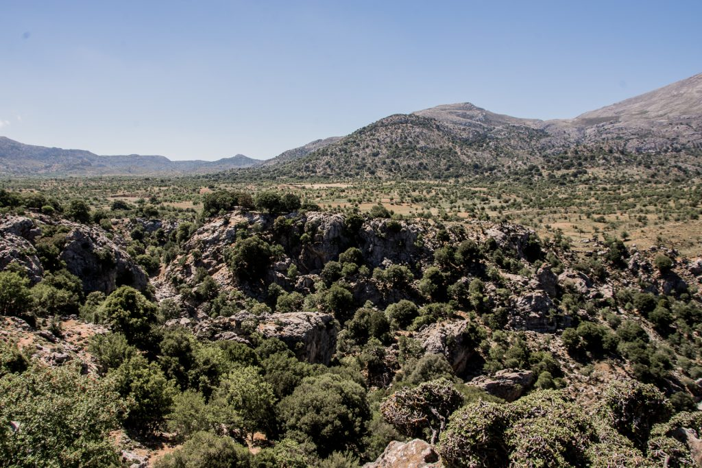 Ostkreta, Kreta, Landschaft