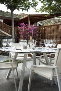 Weinprobe, Tischgedeck, Restaurant