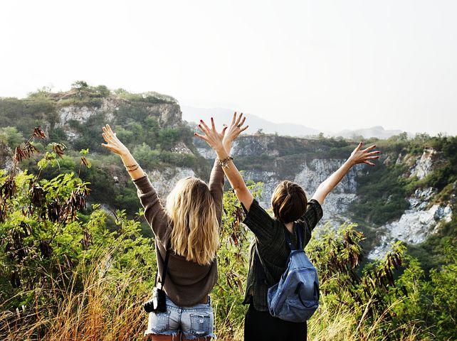 Reise, Urlaub, Freunde, Urlaub mit Freunden