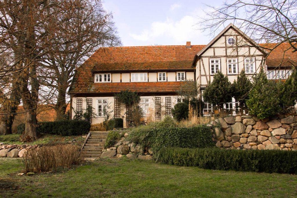 Gutshof Woldzegarten, Hotel Gutshof Woldzegarten, Müritz, farmhouse