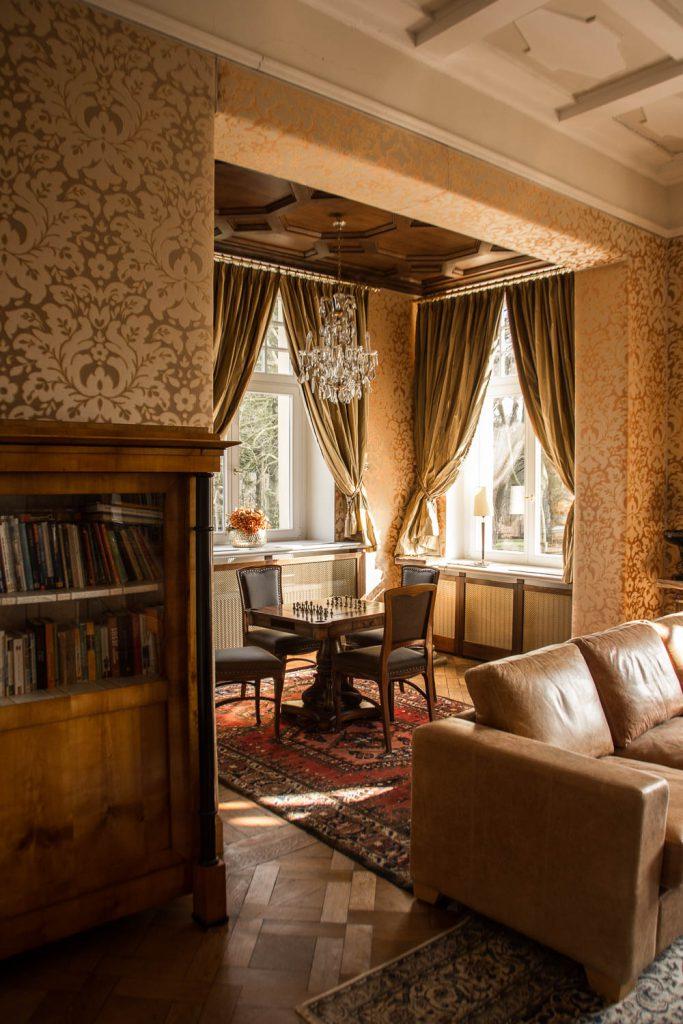 Chess salon, chess, Schlosshotel Wendorf, Schwerin, 5 - Star- Hotel, holiday in Germany, luxury holiday