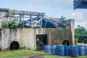 Grenada, Karibik, Rum Fabrik