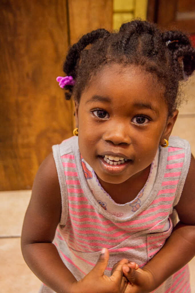 Grenada, Saint- George, Karibik, Einheimische, kleines Mädchen