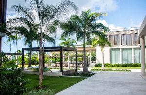 Grenada, Karibik, Silversands, Palmen, Hotel