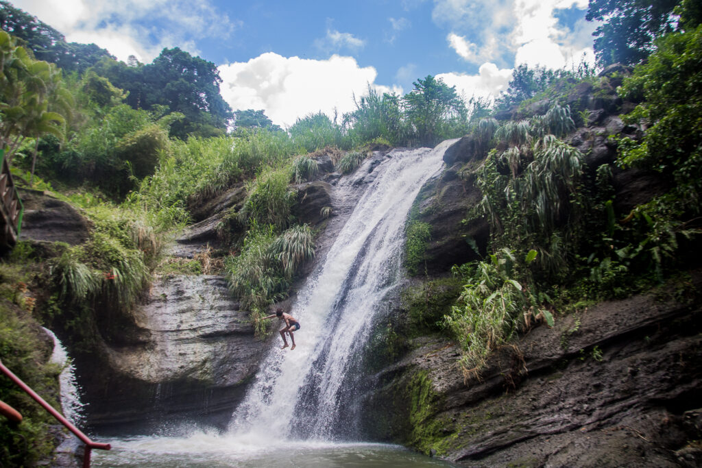 Grenada, Karibik, Concord Falls, Natur, Wasserfall