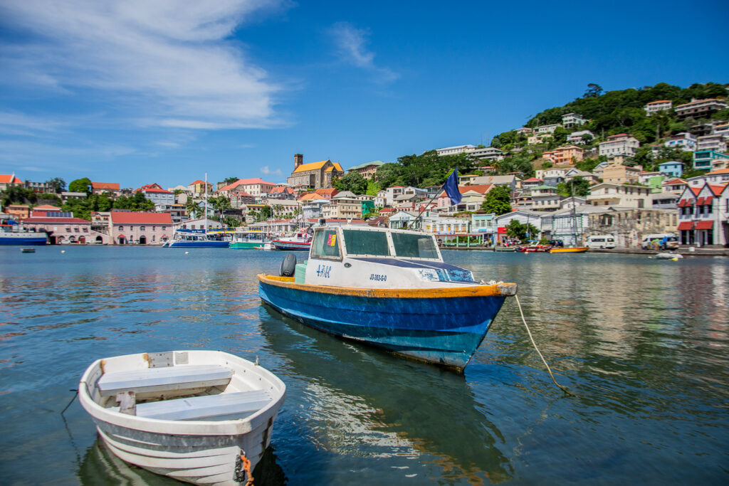 Caribbean, Grenada, Saint - George, View from the Market